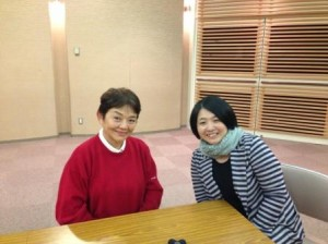 藤田弓子さんと